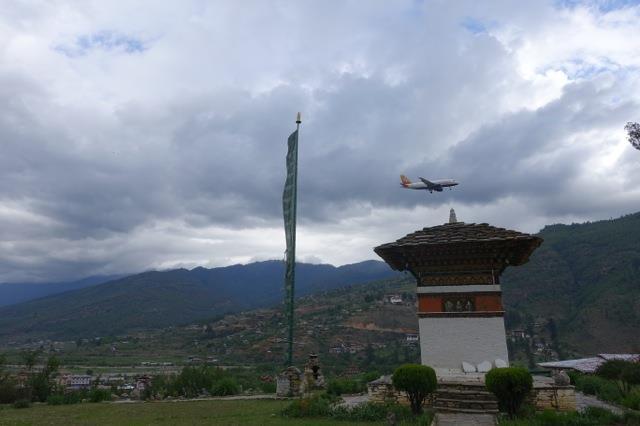 Drukair & Paro Dzong