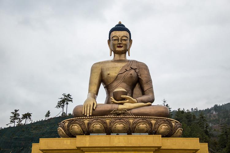 Buddha-statue-at-Thimpu